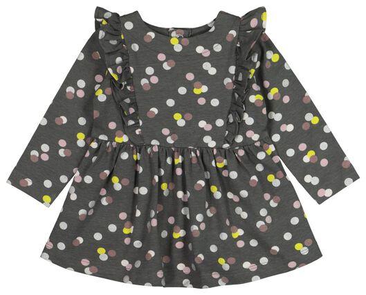 baby dress dark grey dark grey - 1000021552 - hema