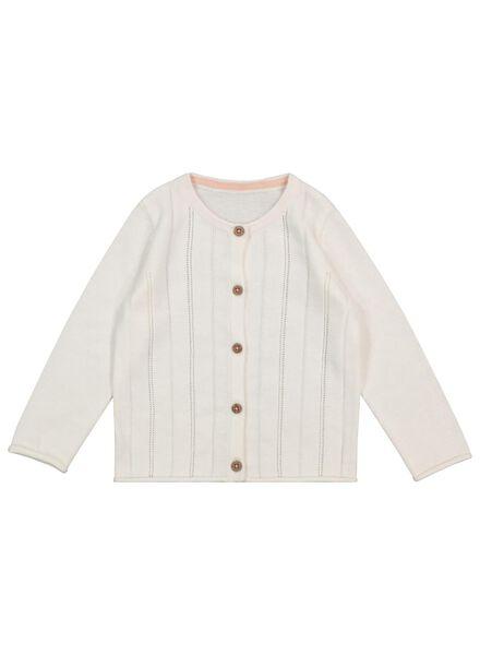 baby cardigan off-white off-white - 1000017500 - hema