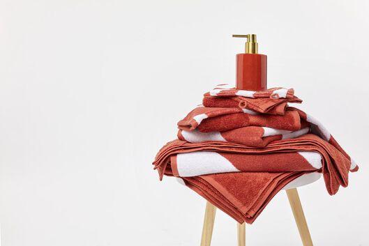 gant de toilette - qualité épaisse - terracotta terra gant de toilette - 5200177 - HEMA