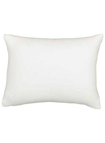 children's pillow case - 50 x 60 - flannel - white - 5100012 - hema