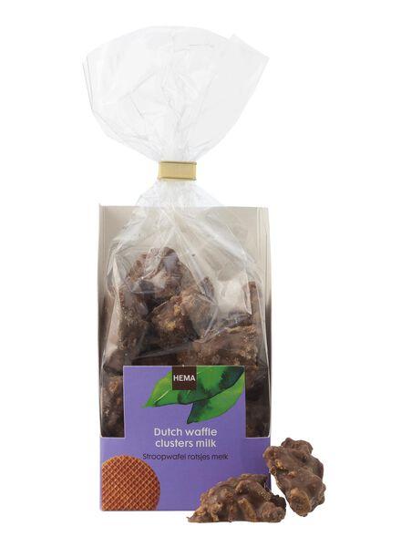 rochers à la gaufre hollandaise au chocolat au lait - 10311032 - HEMA