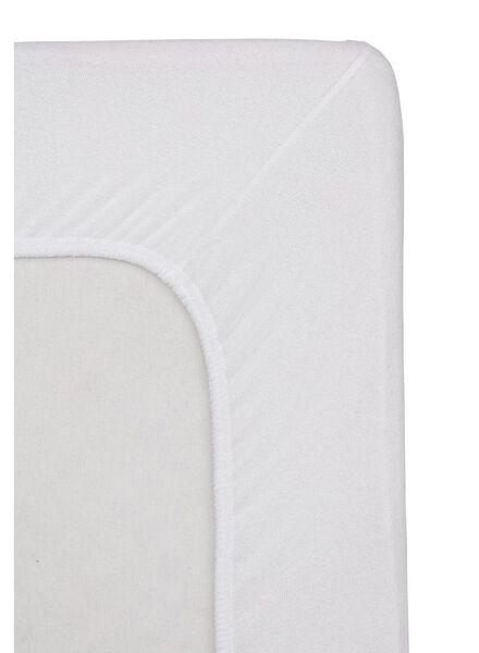 drap-housse - éponge - blanc blanc - 1000013971 - HEMA