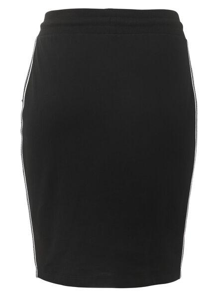 women's skirt black black - 1000007364 - hema