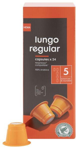 24er-Pack Kaffeekapseln Lungo Regular - 17180002 - HEMA