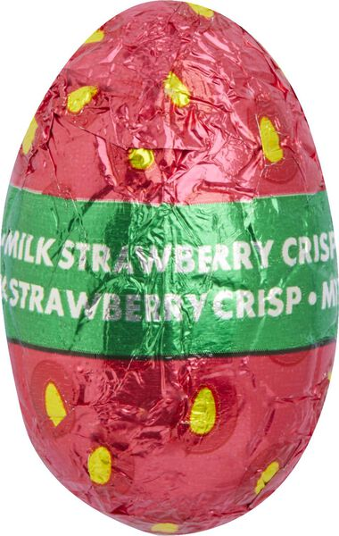 Easter eggs milk strawberry crisp 200 grams - 10091043 - hema