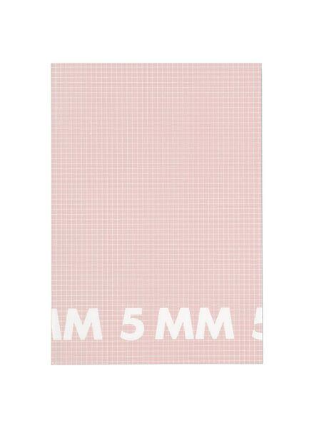 3 Hefte DIN A4, kariert 5 mm - 14101617 - HEMA