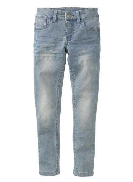 children's skinny fit trousers light blue light blue - 1000007386 - hema