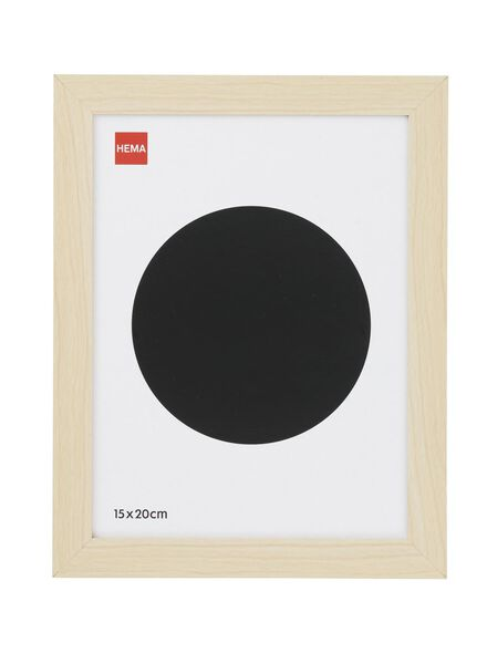cadre photo 15 x 20 cm 15 x 20 bois - 13680022 - HEMA