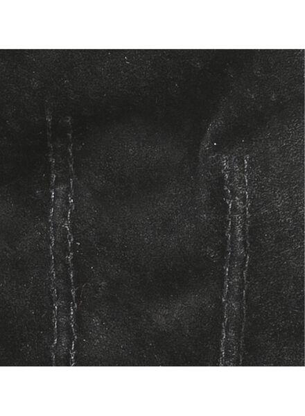 dameshandschoenen suède zwart zwart - 1000016848 - HEMA