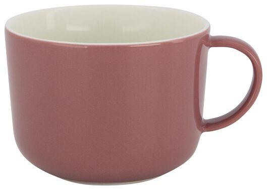 mug à cappuccino Chicago 330 ml vieux rose 330 ml lilas - 9602106 - HEMA