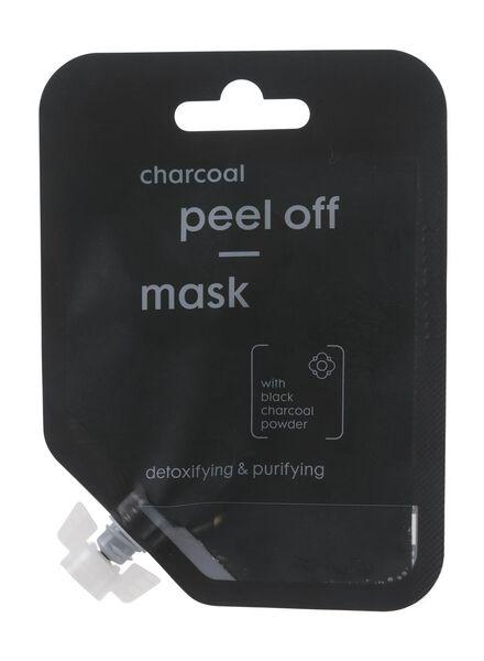 peel-off masker met houtskool - 17880018 - HEMA