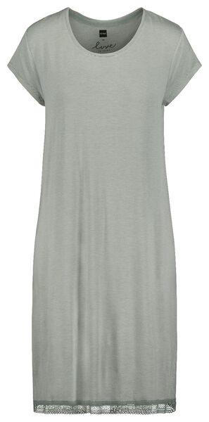 women's nightshirt light green light green - 1000018761 - hema