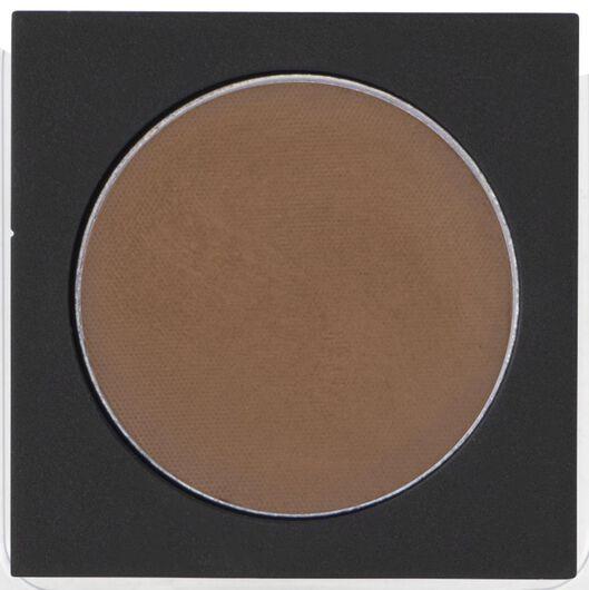 ombre à paupières mat 03 beautiful brown marron recharge - 11210303 - HEMA