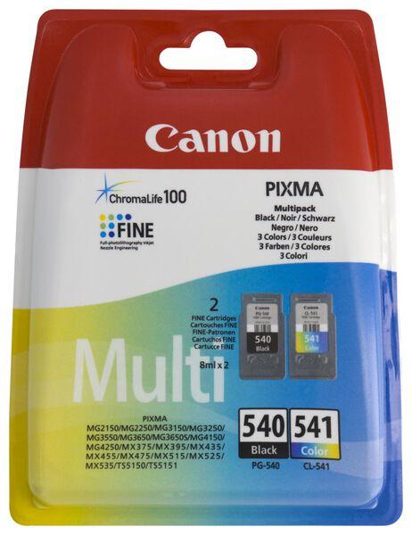 cartridge Canon PG-540/CL-541 zwart/kleur - 2 stuks - 38300109 - hema