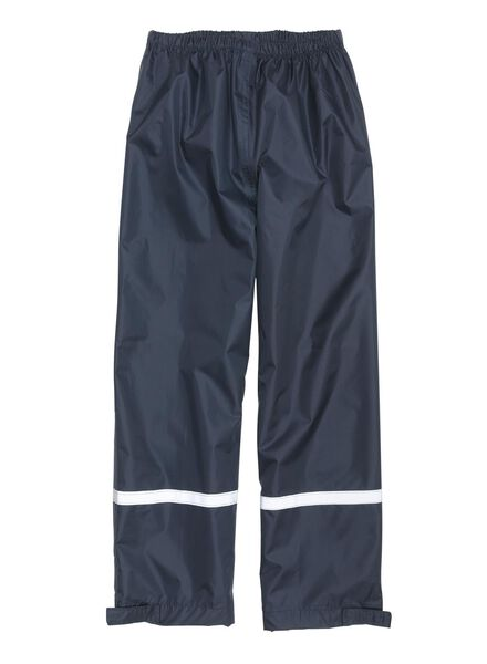 foldable children's rainproof trousers blue blue - 1000006246 - hema