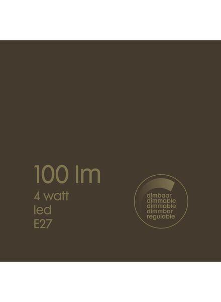 LED-Lampe, 4W, 100Lumen, Edison, Titan - 20020075 - HEMA