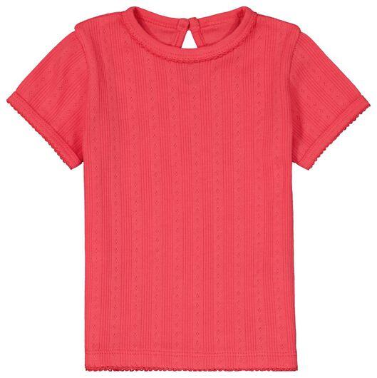 2er-Pack Baby-T-Shirts, Ajour eierschalenfarben 68 - 33019742 - HEMA