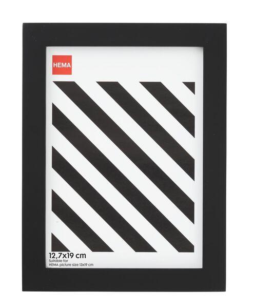 photo frame - wood - black 12.7 x 19 - 13680017 - hema