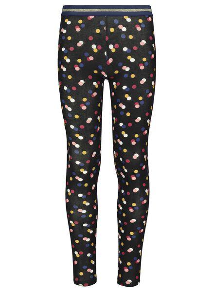 children's leggings black black - 1000017289 - hema