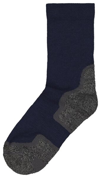 hiking socks with wool blue blue - 1000018896 - hema