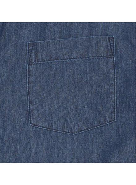 men's shirt denim denim - 1000005872 - hema