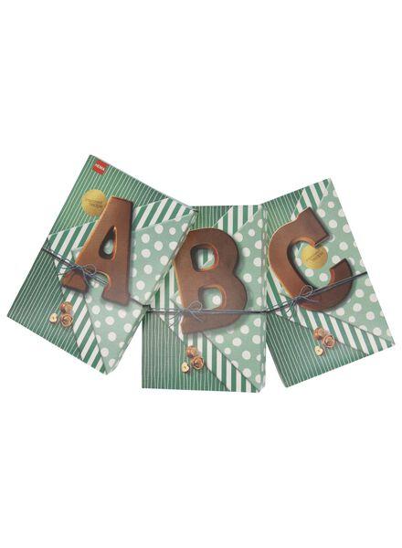 chocolate letters hazelnut milk hazelnut milk - 1000017369 - hema