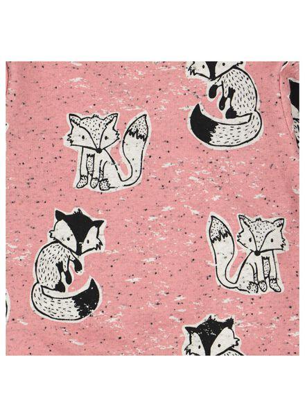 Baby-Sweatshirt rosa rosa - 1000014263 - HEMA