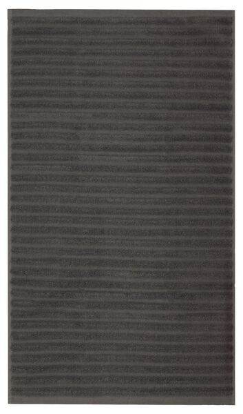 bath mat 50x85 stripe dark grey - 5230048 - hema