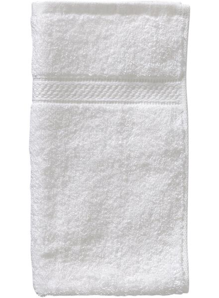 guest towel - 30 x 55 cm - heavy quality - white white guest towel - 5202600 - hema