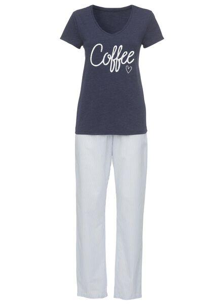 women's pyjamas bright blue bright blue - 1000006656 - hema