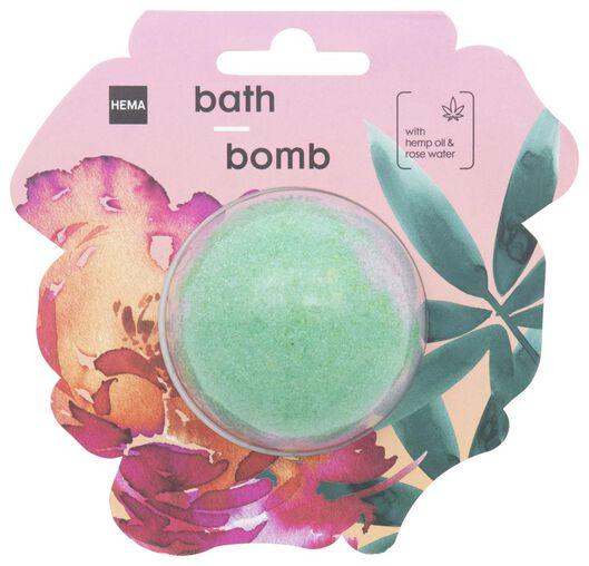 bath foam ball with hemp oil and rose water - 11330100 - hema