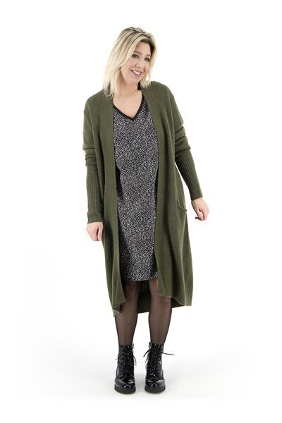 women's cardigan army green army green - 1000017987 - hema