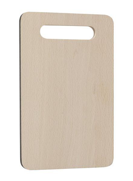 cutting board 24x15 wood - 80810064 - hema