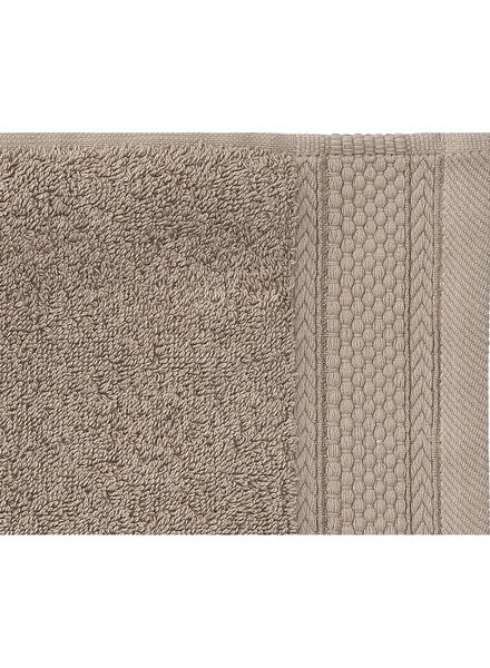 towel - 70 x 140 cm - hotel extra thick - taupe plain taupe towel 70 x 140 - 5240195 - hema