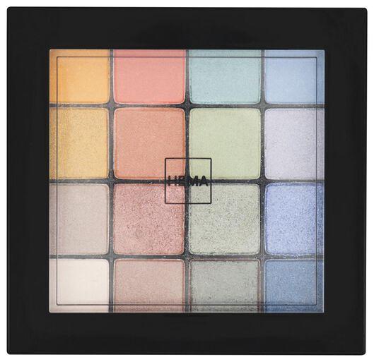 palette ombres à paupières bright - 11218509 - HEMA