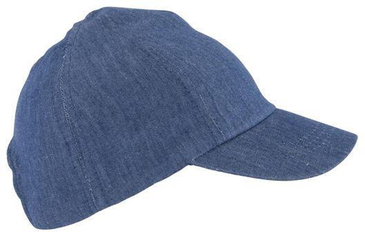 Baby-Schirmmütze, Denim jeansfarben jeansfarben - 1000022791 - HEMA