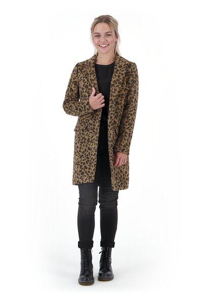 Damen-Jacke, Leopardenflecken schwarz schwarz - 1000020642 - HEMA