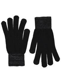 women's gloves touch screen black black - 1000015529 - hema