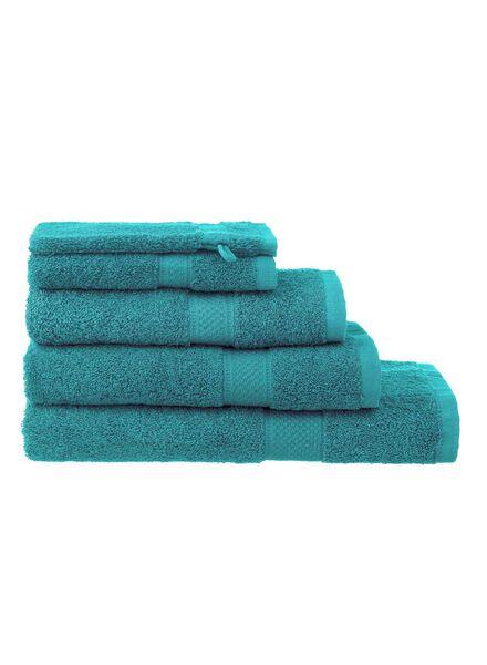 serviettes de bain - qualité supérieure vert vert - 1000015174 - HEMA