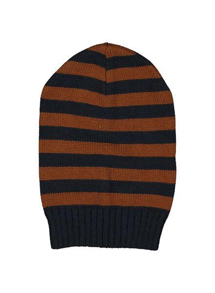 bonnet enfant marron marron - 1000014456 - HEMA