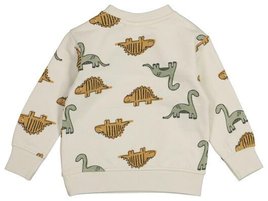 Baby-Sweatshirt, Dinosaurier sandfarben sandfarben - 1000022314 - HEMA