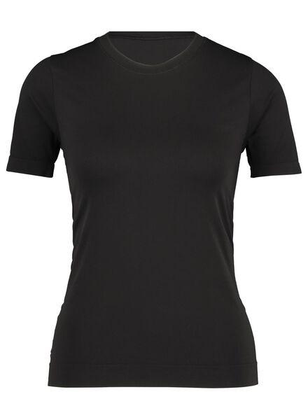Damen-Sportshirt schwarz schwarz - 1000017102 - HEMA