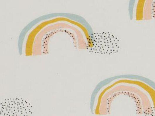 Baby-Schlafsack – ungefüttert – Ärmel abnehmbar – Regenbogenmuster weiß weiß - 1000017640 - HEMA