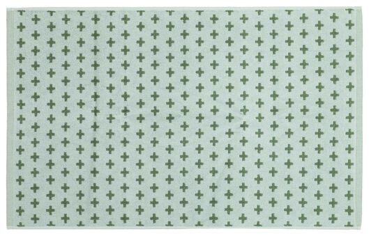 badmat - 50x80 - duotoon groen - 5210127 - HEMA