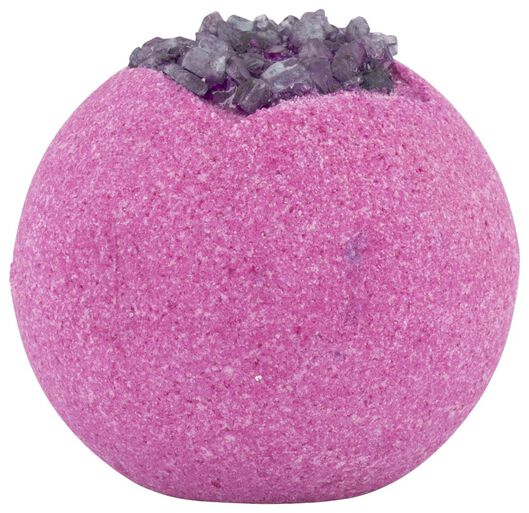 boule effervescente sel de mer violette - 11312640 - HEMA