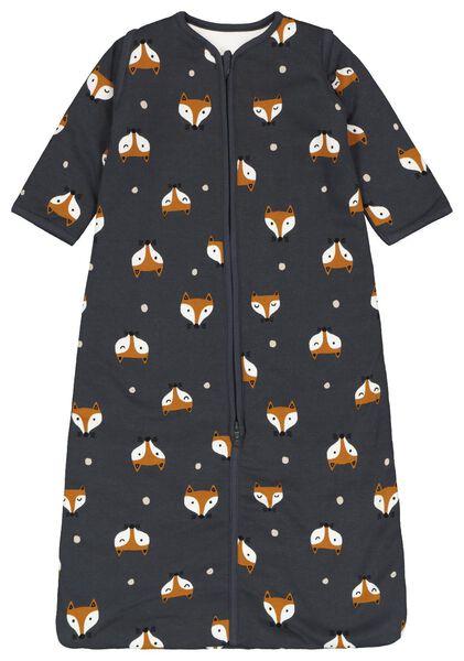 gefütterter Baby-Schlafsack, Füchse, Ärmel abnehmbar dunkelgrau dunkelgrau - 1000019998 - HEMA