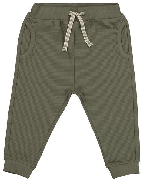 Baby-Sweathose grün grün - 1000022286 - HEMA
