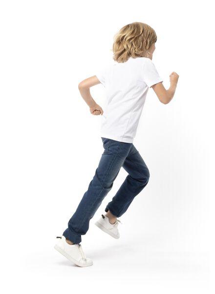 pantalon enfant denim denim - 1000004544 - HEMA