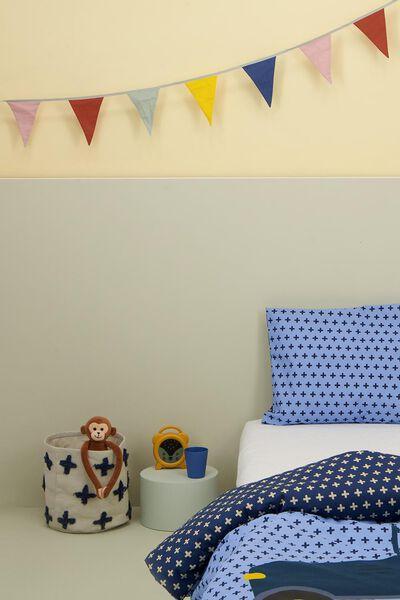 toddler duvet cover 120x150 soft cotton - goat - 5720154 - hema