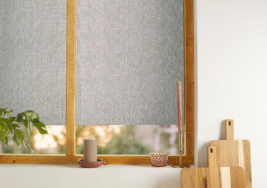 film textile pour fenêtres 150x45 recyclé gris foncé - 7610004 - HEMA